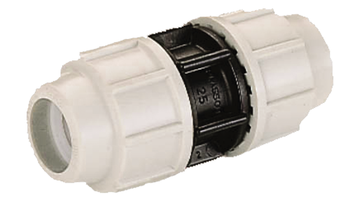MDPE Plasson Coupler Joiner Metric compression fitting