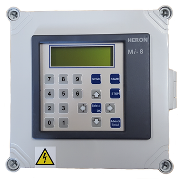 Heron Mi4, Mi8, Mi12 or Mi16 Irrigation Controller