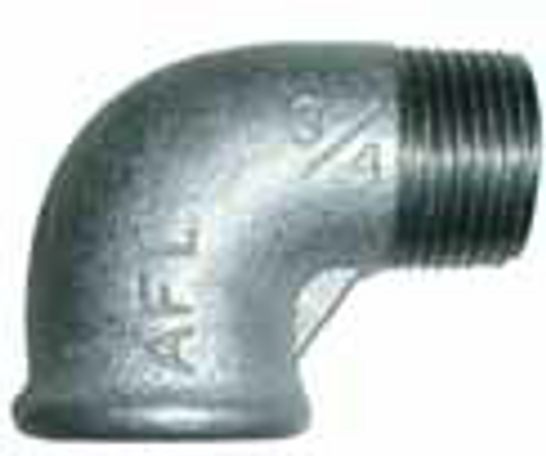 Galvanised Male/Female M/F Elbow 90°