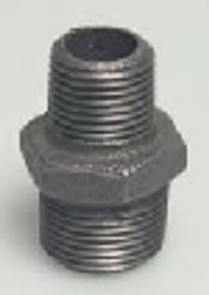 Black Iron Steel Metal  Reducing Nipple