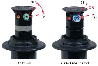 Flex 800 34B 35B Nozzle Trajectory