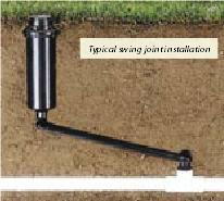 Swing Joint Kit with Sprinkler