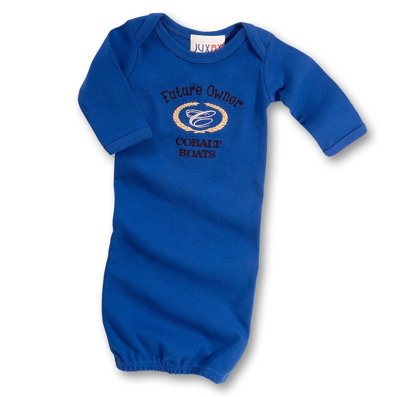 I107 Infant Gown - Cobalt Sportswear