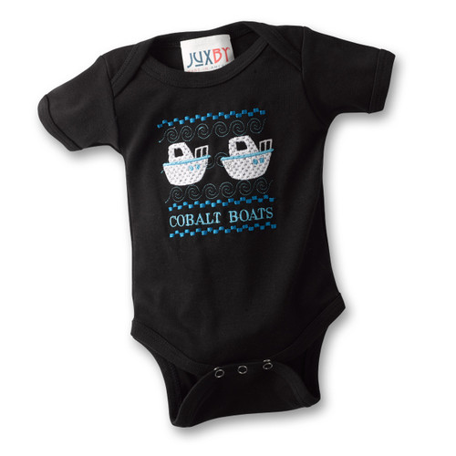 Black Infant Onesie