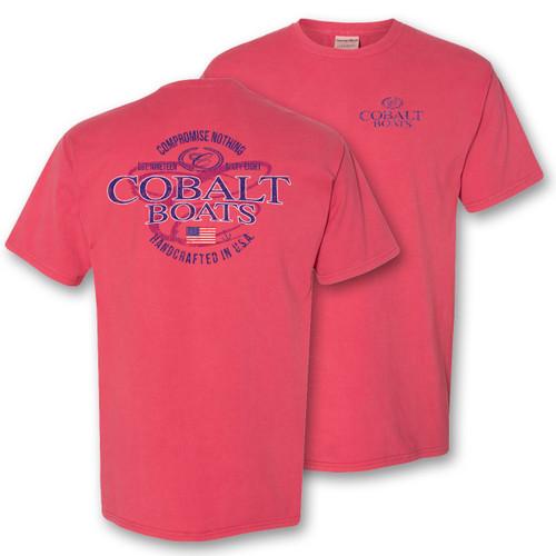 A396 Cobalt Garment Washed Tee