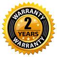 2 Year Manufacture Warranty