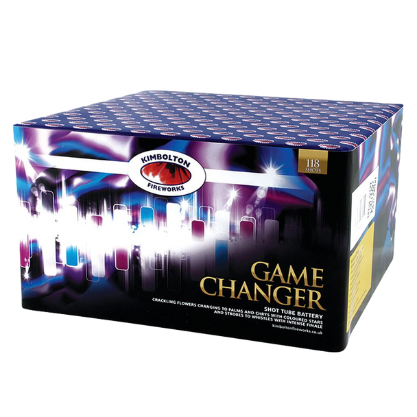 Get ready to change the game with this fantastic single ignition firework!