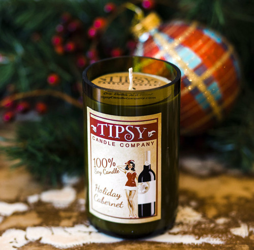 A snowy night in December with friends just isn't complete without some Holiday Cabernet. You'll think of everyone's favorite time of the season when you smell the top notes of cranberry relish and orange zests with hints of ginger, nutmeg, and cinnamon.