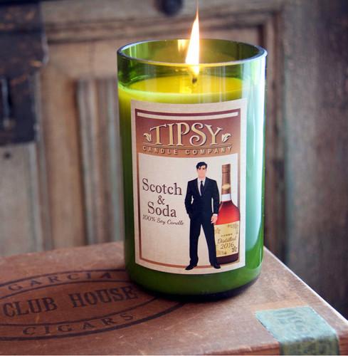 Scotch & Soda   Soy Candle