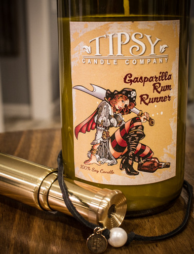 Gasparilla Rum Runner   Soy Candle   Tipsy Candle Company