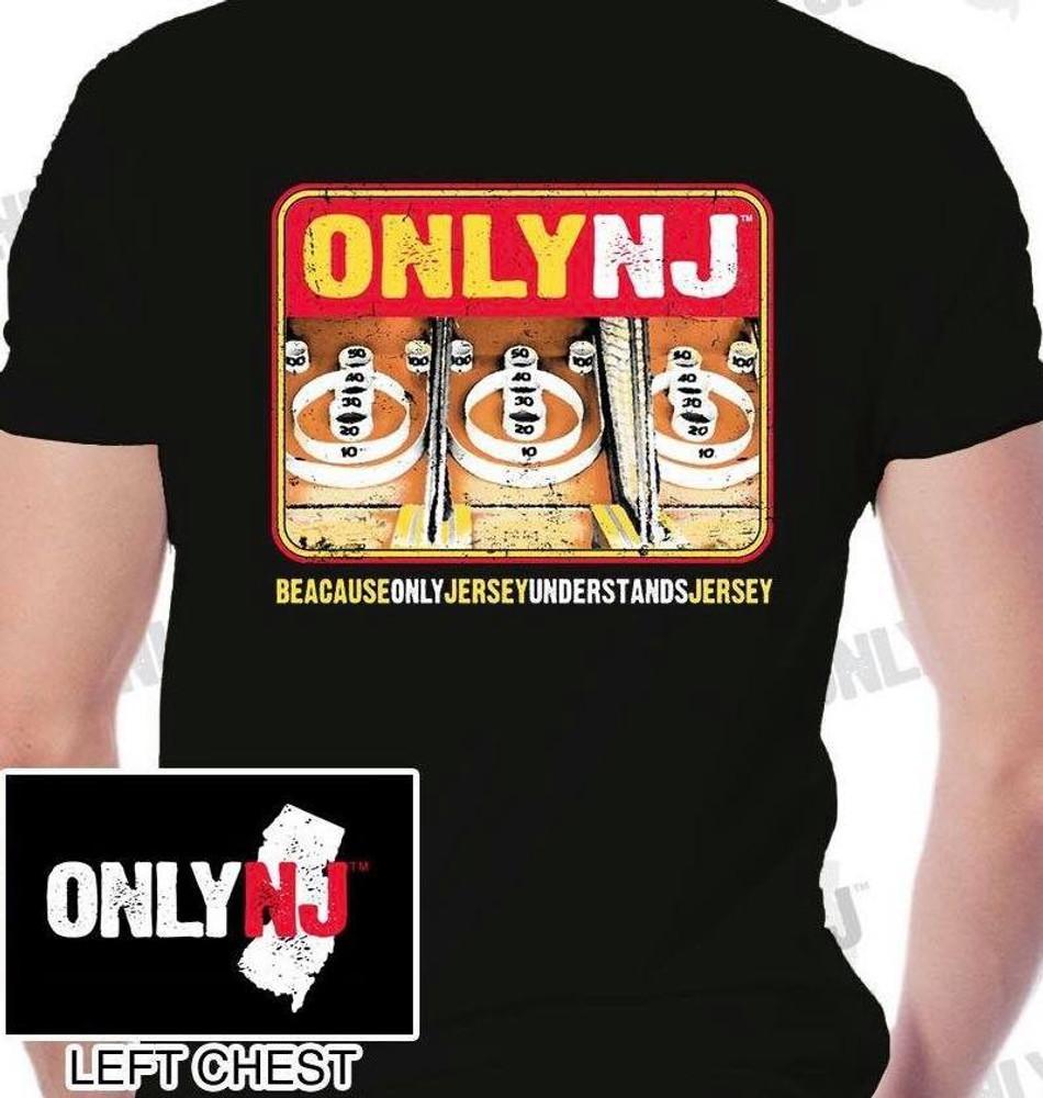 Only NJ Boardwalk Skeeball Tee