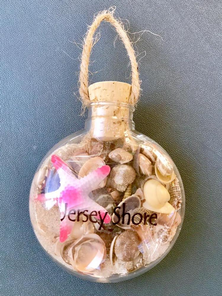 Round Flat Hanging Ornament