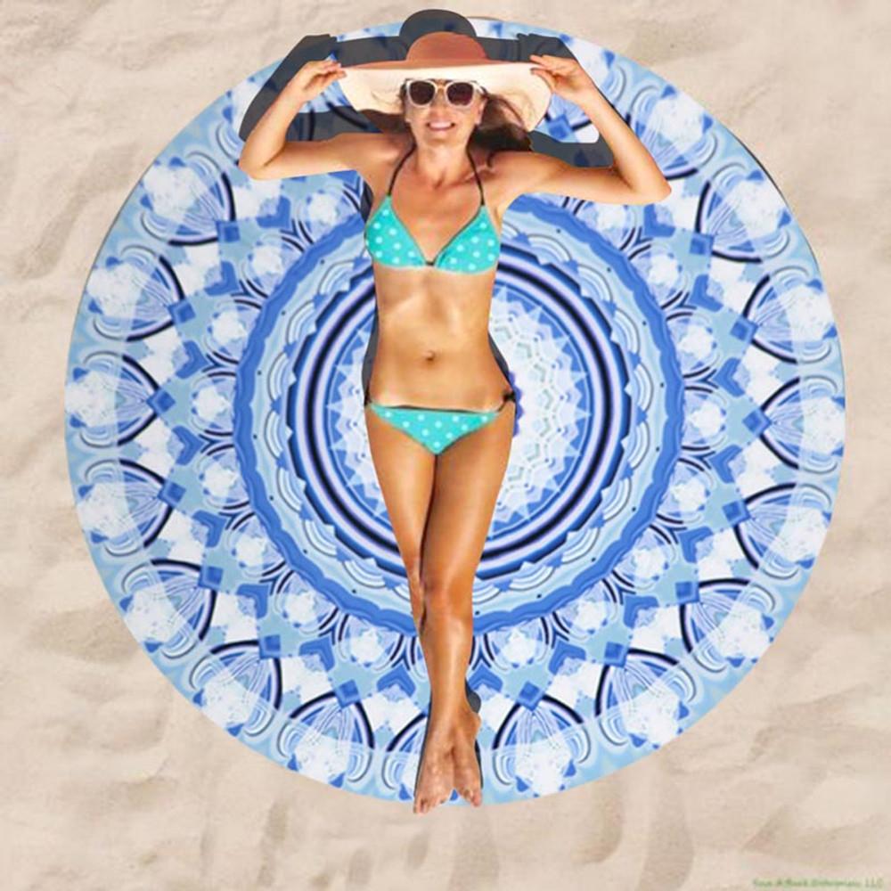 Mandala Boho Lightweight Beach Blanket