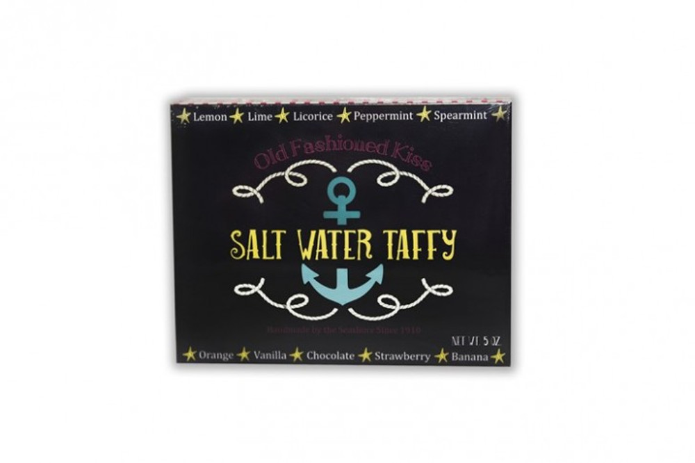 "5 oz  ""Nautical"" Box Salt Water Taffy"