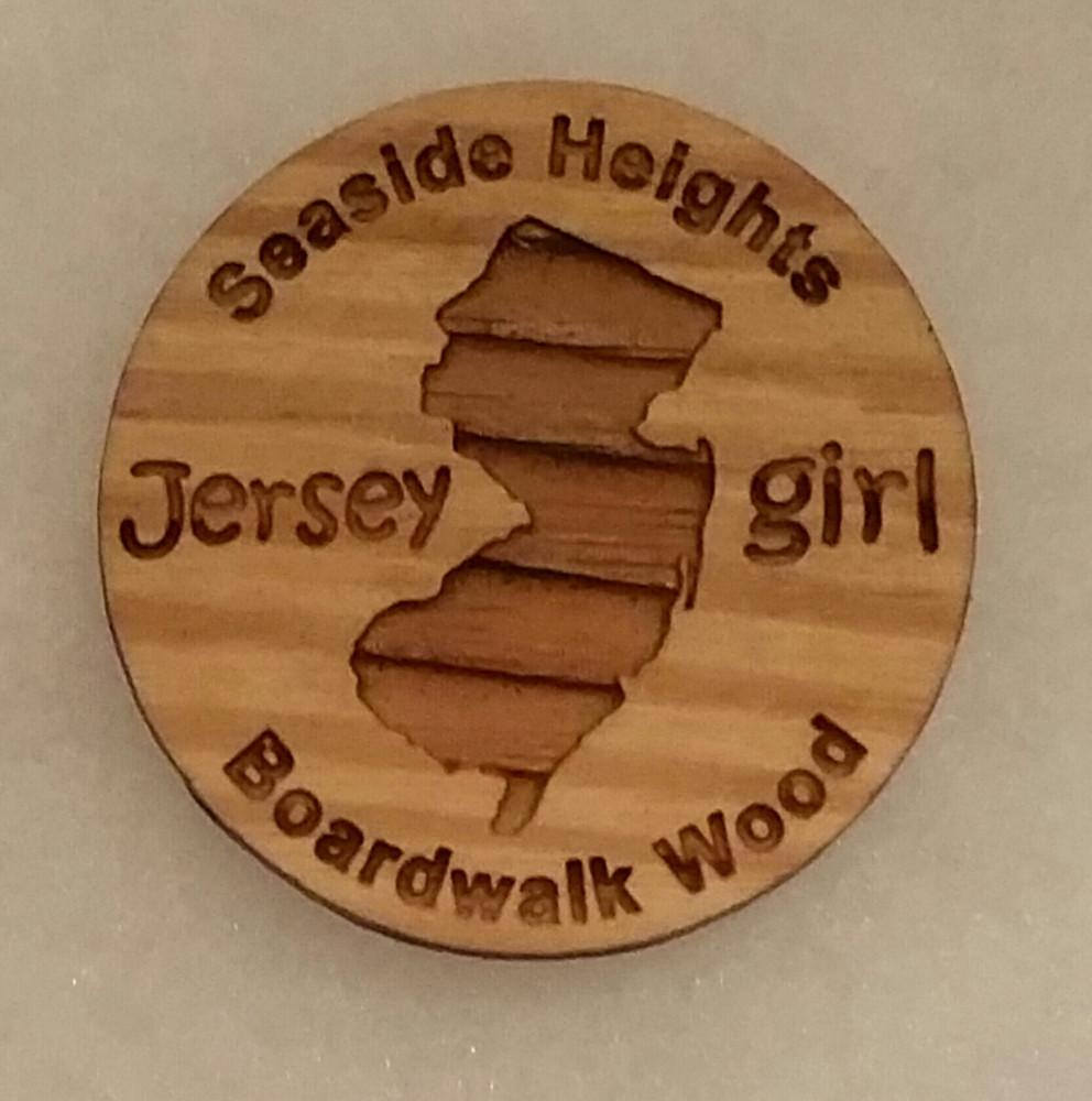 Jersey Girl Seaside Heights Boardwalk Magnet