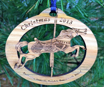 Seaside Heights 2013 Carousel Christmas Ornament