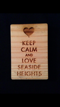 Keep Calm and Love Seaside Heights Magnet