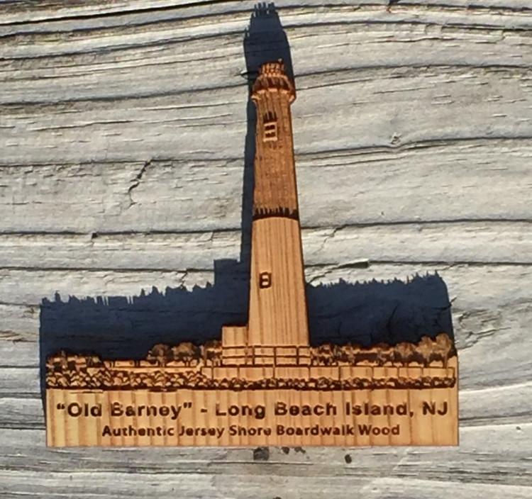 Old Barney Lighthouse Magnet