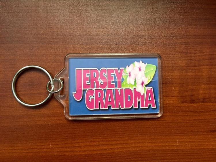 Jersey Grandma Keychain