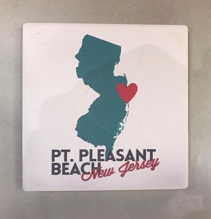 Point Pleasant Stone Coaster