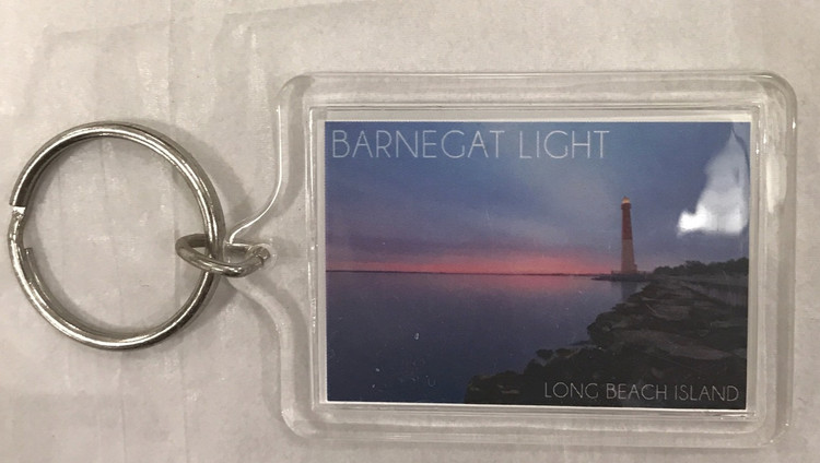 Barnegat Light Sunset Key Ring