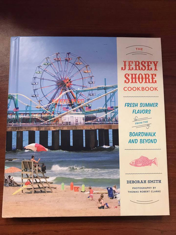"""The warm sand. The salt air. The boardwalk. The food!"""" The Jersey Shore Cookbook features 50 recipes contributed by well-loved shore town restaurants, bakeries, markets, and more!! GET ALL your jersey cravings and beautiful/neat illustration!!!"""