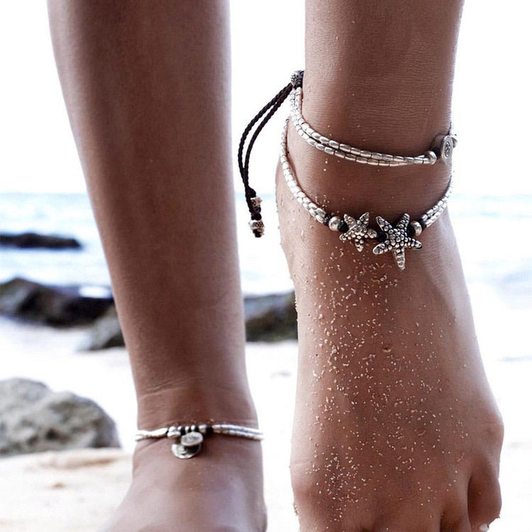 Starfish Anklet Bracelet