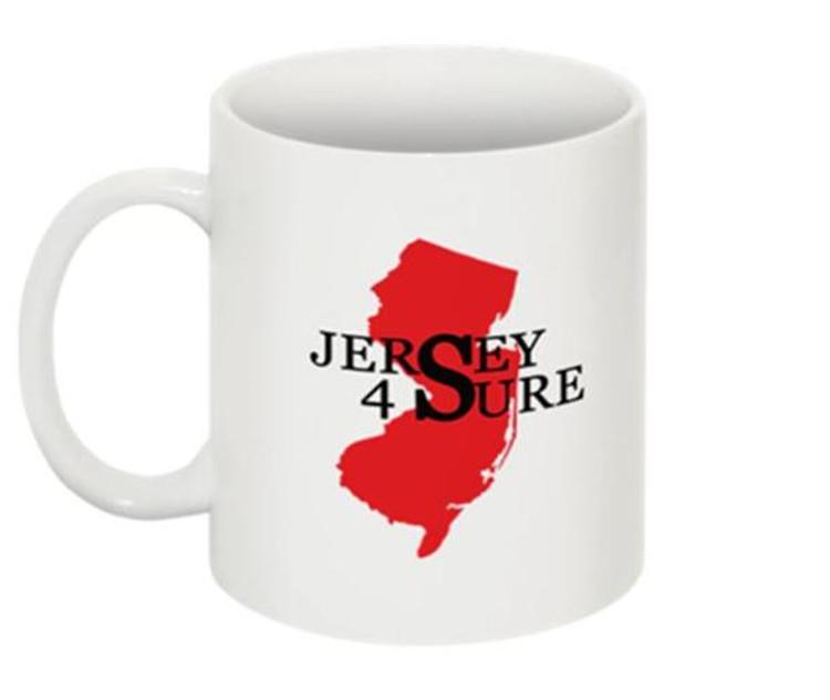 Jersey 4 Sure Mug Red