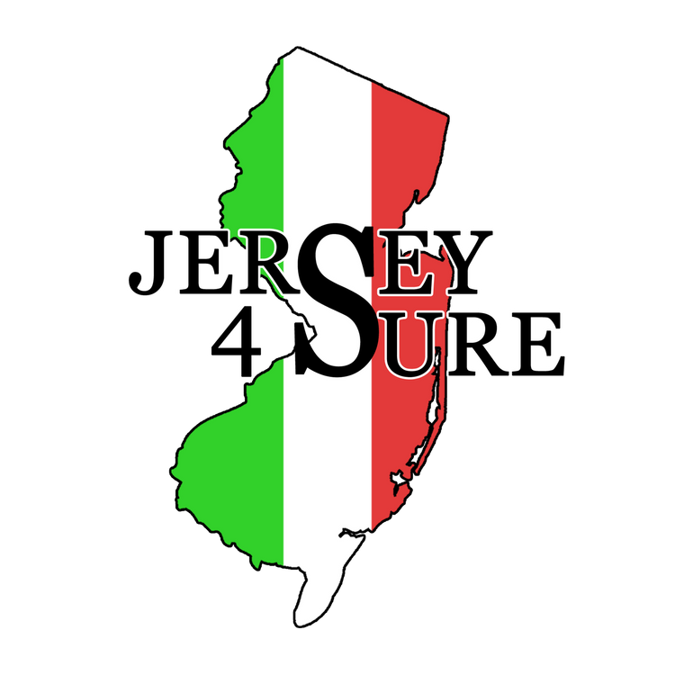 Jersey 4 Sure Italian - Black Logo Car Sticker