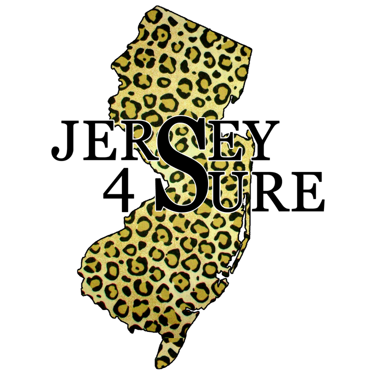 Jersey 4 Sure Leopard - Black Logo Car Sticker