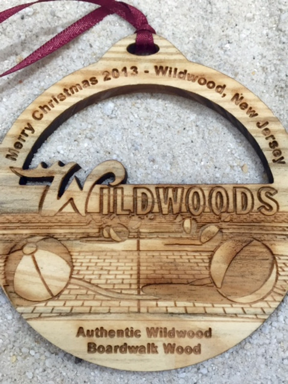 2013 Merry Christmas Wildwood Ornament