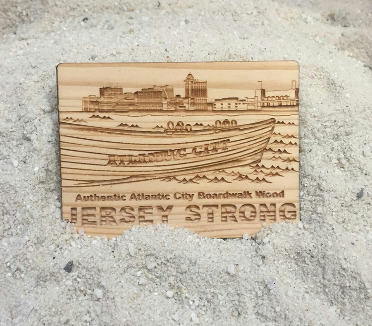 Atlantic City Jersey Strong Magnet