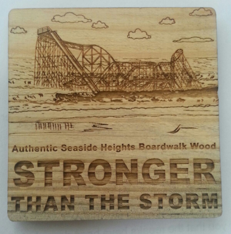 Stronger Than The Storm Square Magnet