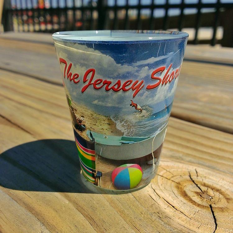 The Jersey Shore Shot Glass