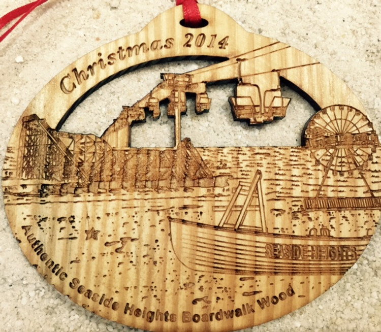 Seaside Heights 2014 Christmas Ornament