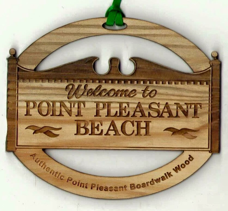 Welcome To Point Pleasant Beach Ornament