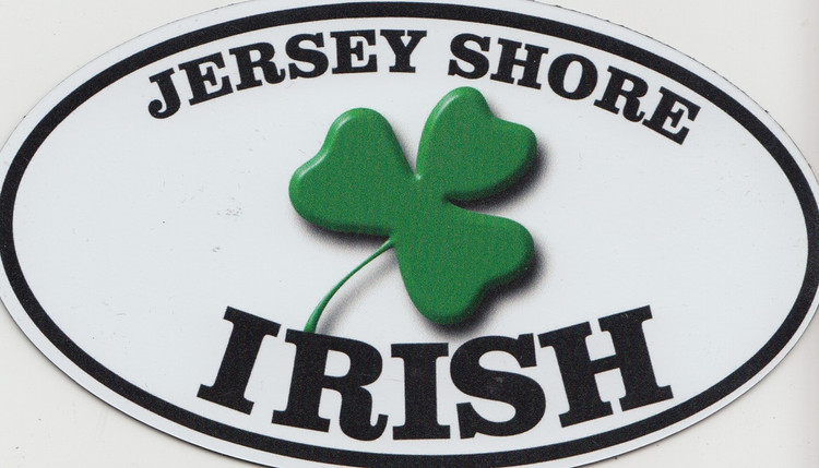Jersey Shore Irish Auto Magnet