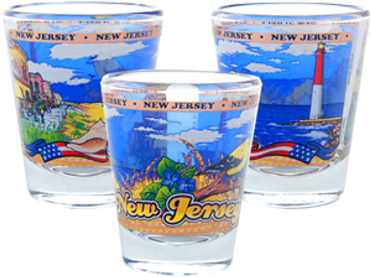 Panorama New Jersey Shot Glass
