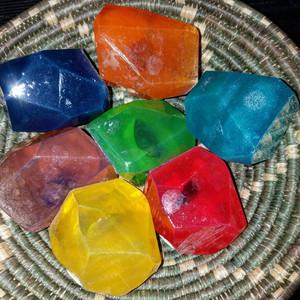 Crystal Chakra Soap Set