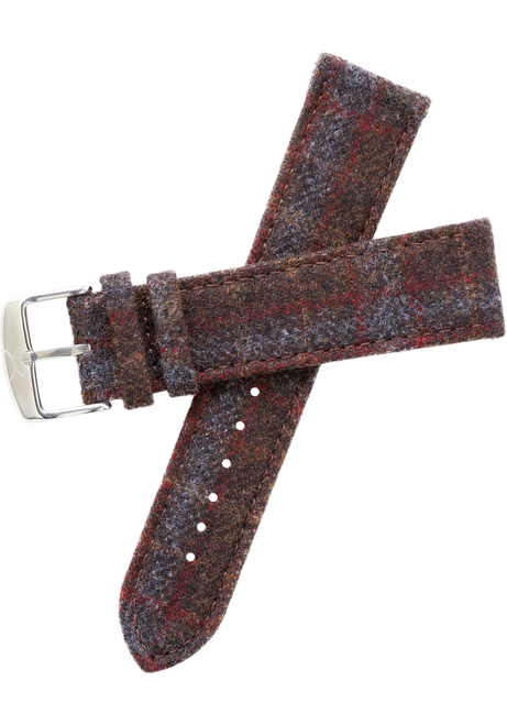 Xeric Savile Row 24mm Chestnut Red Tartan (XRC-SRS-24-010)