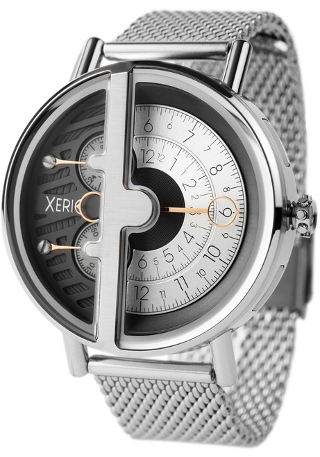 Xeric soloscope rq silver mesh for Watches xeric