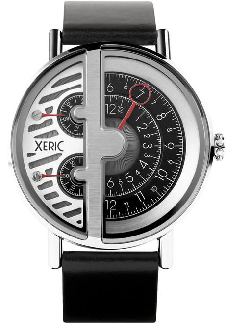 xeric soloscope rq silver black On watches xeric