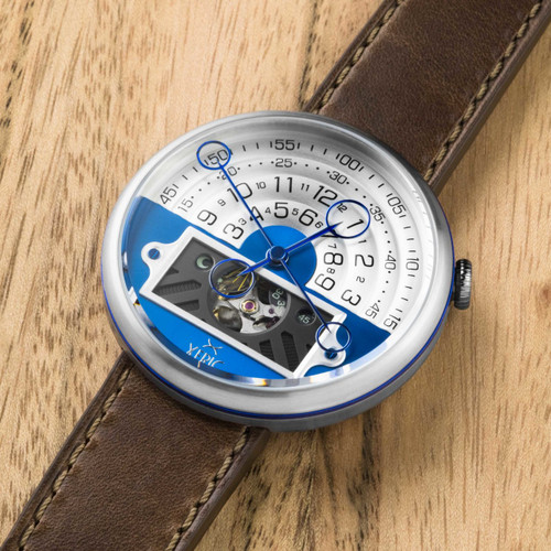 Halograph II Automatic Limited Edition Blue Brown (HGA-1117-06L)