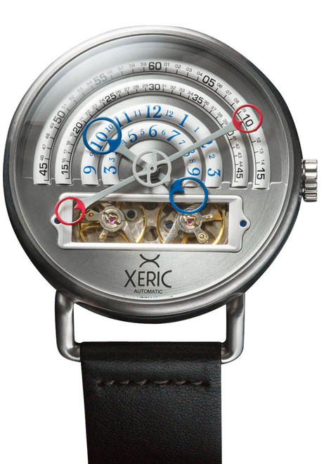 Xeric halograph automatic silver for Watches xeric