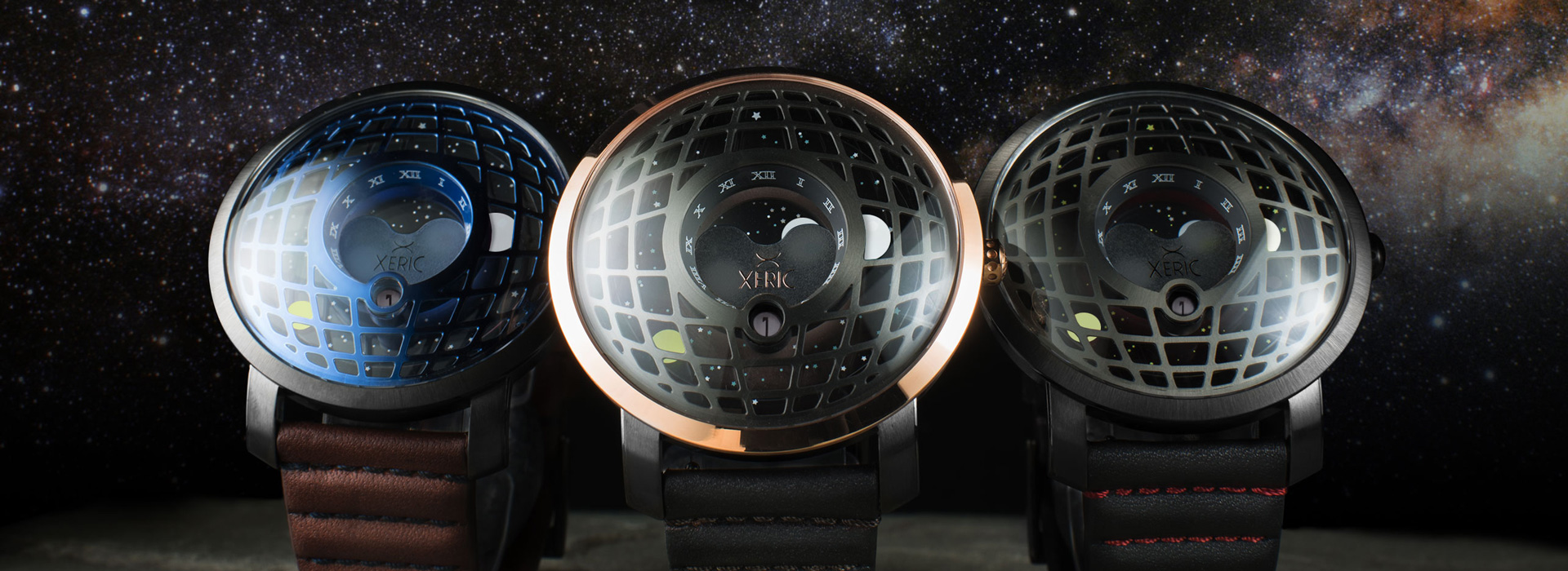 xeric trappist-1 moonphase collection