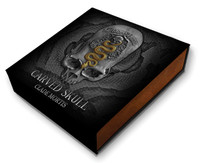 2018 CARVED SKULL III Clade Mortis Bones 1 Oz Silver Coin 1000 Francs Cameroon