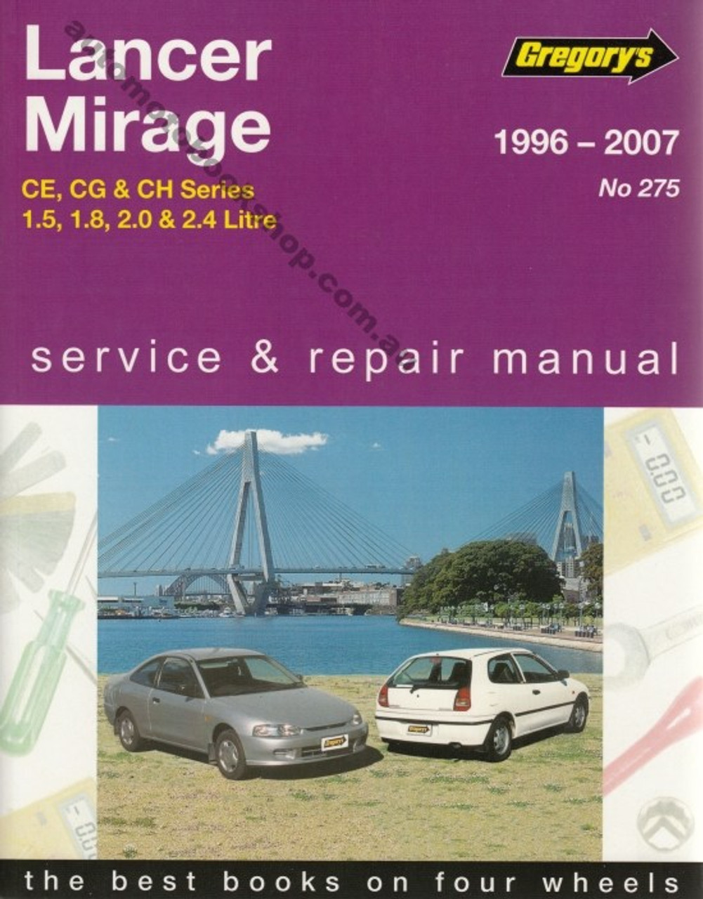 mitsubishi lancer mirage ce cg ch 1996 2007 workshop manual rh automotobookshop com au