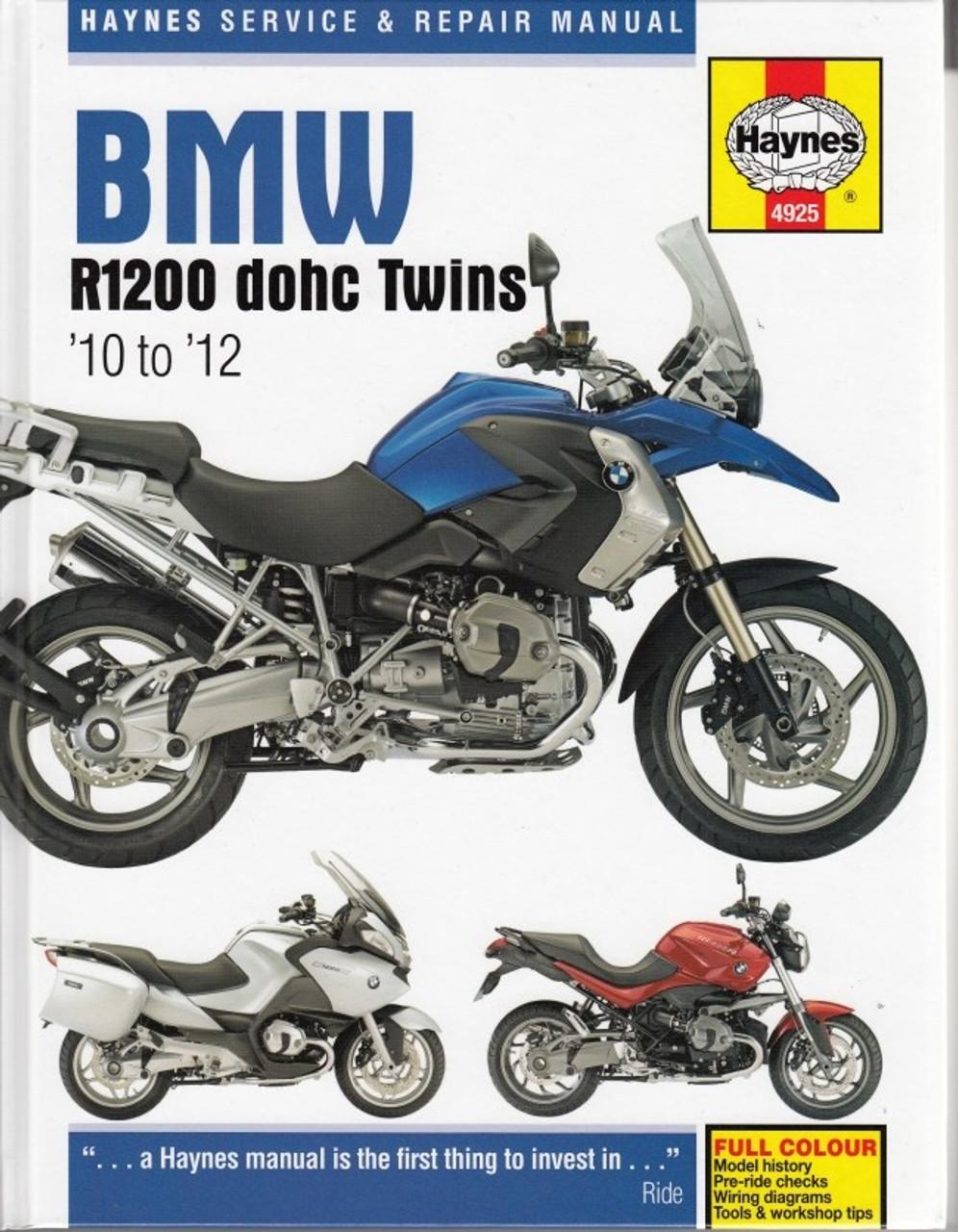 bmw r1200 dohc twins 2010 2012 workshop manual rh automotobookshop com au bmw r1200rt workshop manual free download bmw r1200rt workshop manual free download