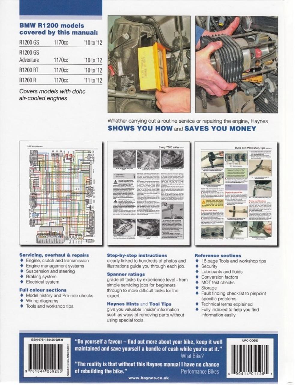 bmw r1200 dohc twins 2010 2012 workshop manual 1997 bmw wiring diagram bmw r1200 dohc twins 2010 2012 repair manual