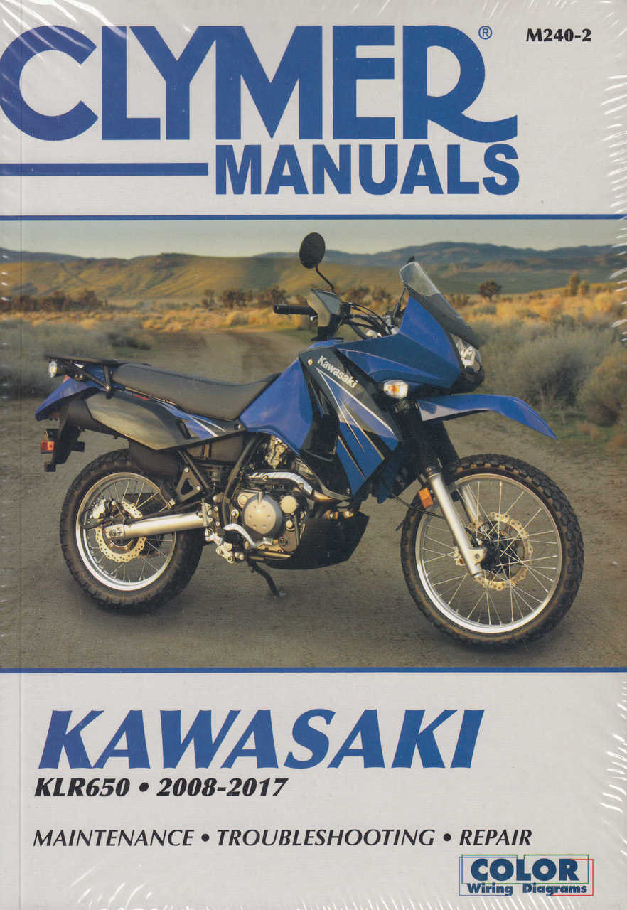 buy kawasaki klr650 2008 2012 clymer workshop manual rh automotobookshop com au 2007 Kawasaki Dual Sport 2007 kawasaki klr 650 owners manual